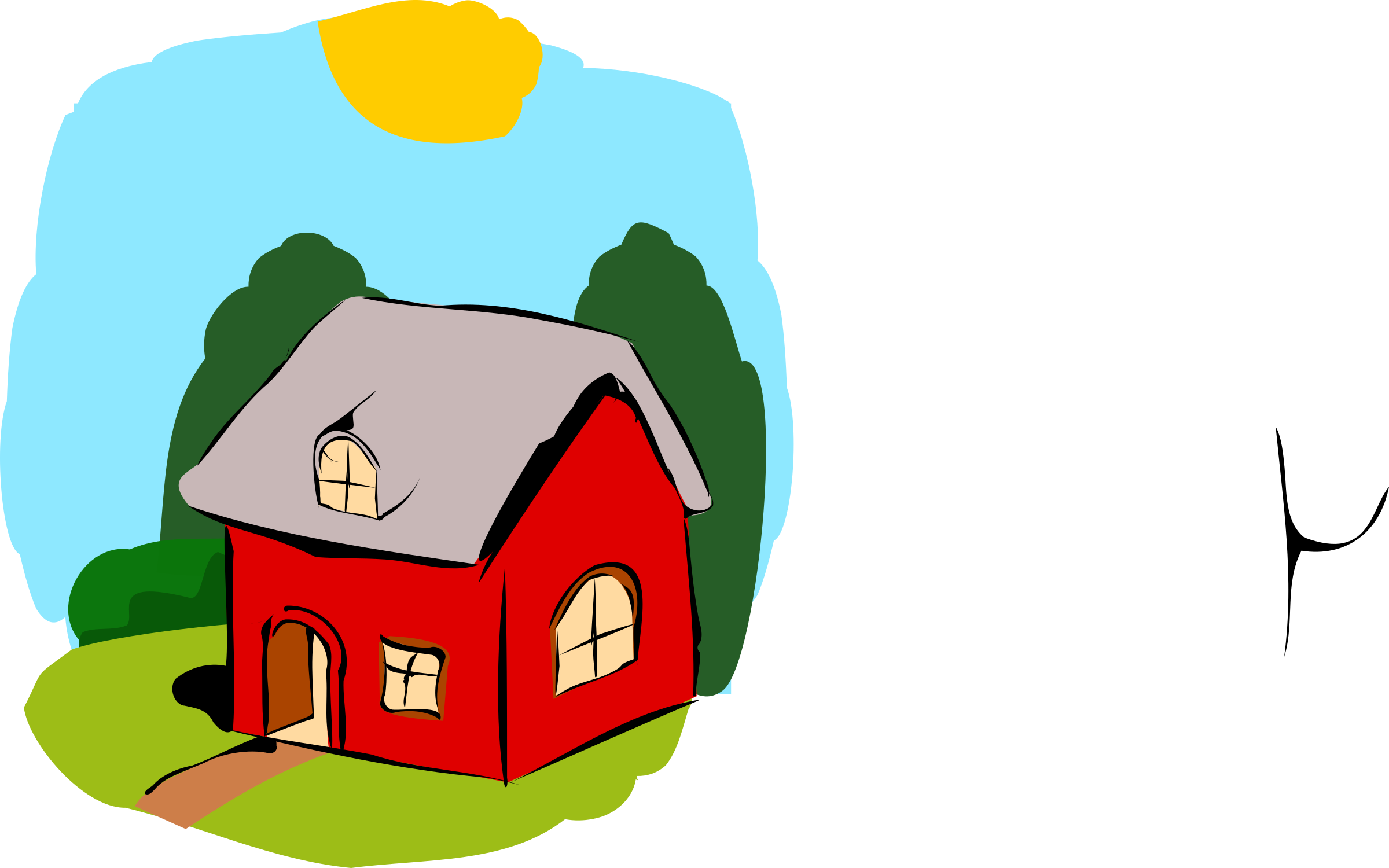 Clipart house sold clip library download Fairy Tale Clipart Simple Free collection | Download and share Fairy ... clip library download
