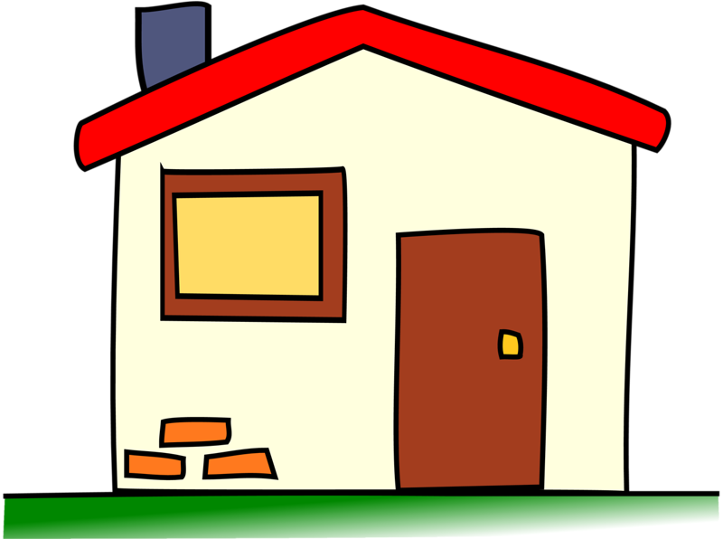 Parts of the house clipart