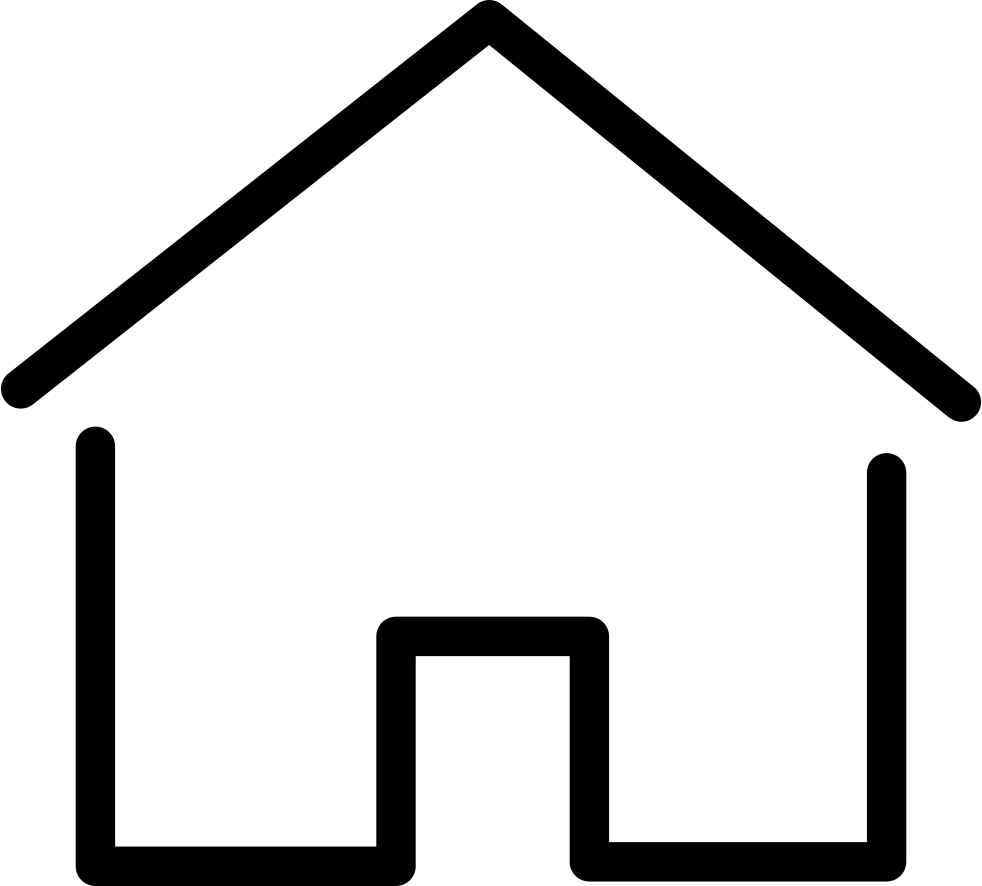 Clipart house thin windows graphic library download Simple House Thin Svg Png Icon Free Download (#67166 ... graphic library download