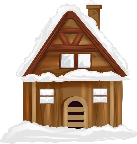 Winter house clipart graphic library download Winter House Transparent PNG Image | Gallery Yopriceville - High ... graphic library download