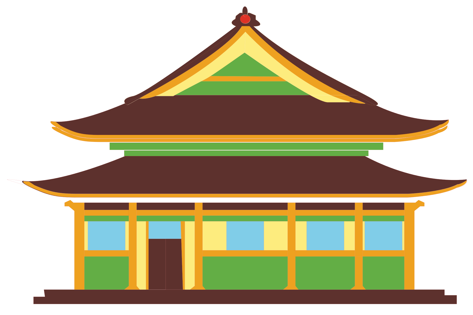 China houses clipart - Clipart Collection | Ancient chinese house ... clip transparent