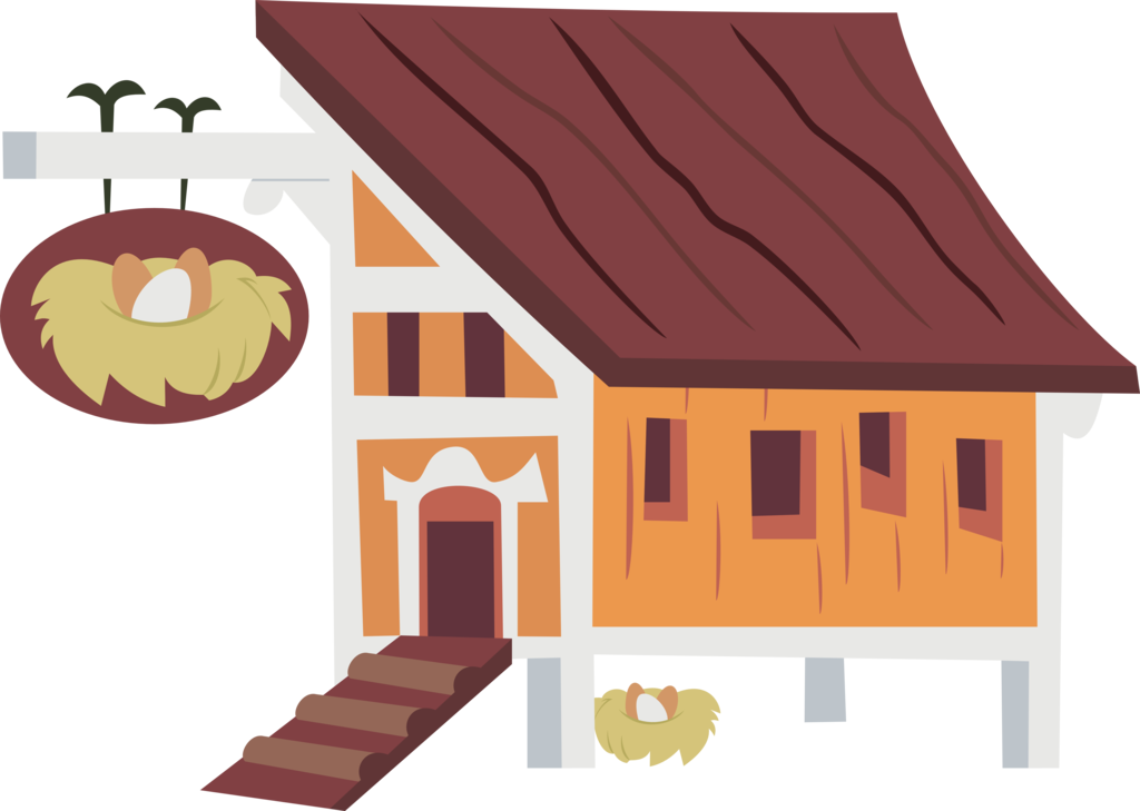 House vector clipart svg freeuse library Hen House by Jeatz-Axl on DeviantArt svg freeuse library