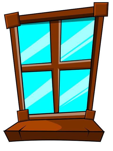 Clipart house windows vector royalty free download Free Windows Clipart - Best Clipart For Pro User :* • vector royalty free download