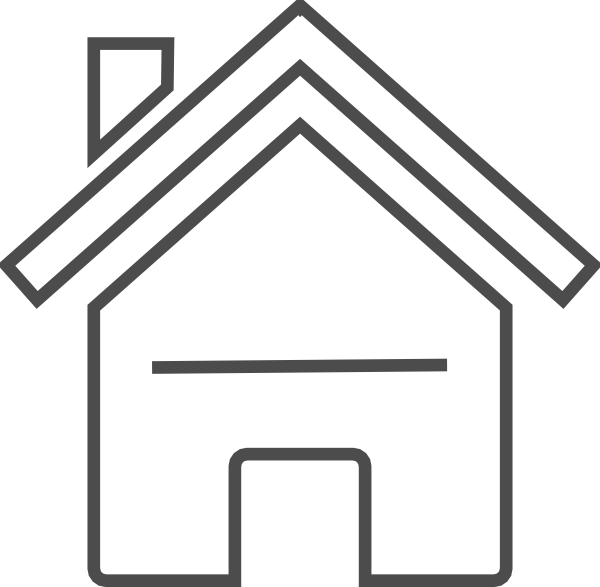 Free domain house outline clipart image royalty free Grey House Clip Art at Clker.com - vector clip art online, royalty ... image royalty free