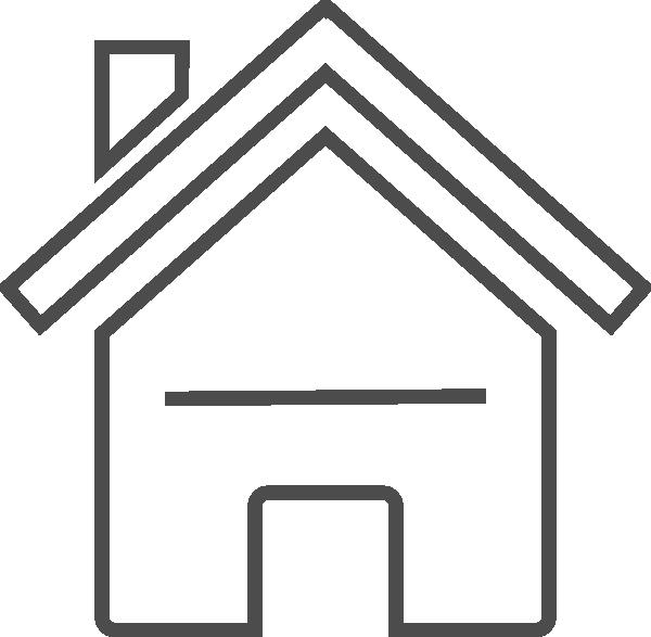 Free clipart house outline jpg download Grey House Clip Art at Clker.com - vector clip art online, royalty ... jpg download