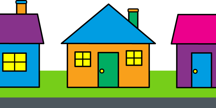 Housing clipart banner royalty free library Clip art houses clipart images gallery for free download | MyReal ... banner royalty free library