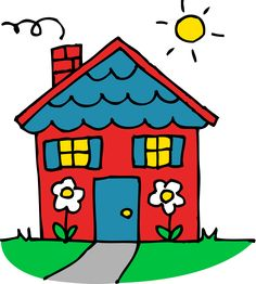 Howuse clipart image free download 34 Best Houses Clipart images | House clipart, Drawings, House drawing image free download