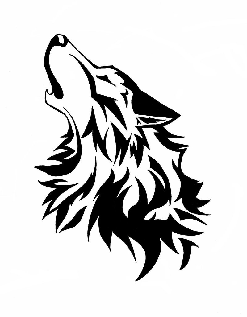 Clipart howling wolf clip art freeuse library Howling Wolf Head Clip Art N6 free image clip art freeuse library