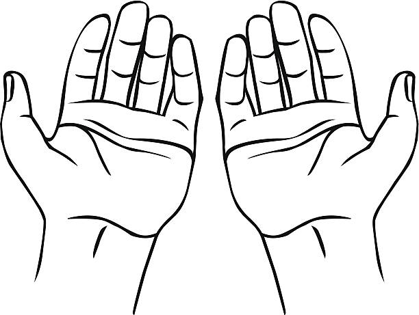 Clipart hs banner free Black And White Praying Hands Clipart Hs Muslim Free - Clipart1001 ... banner free