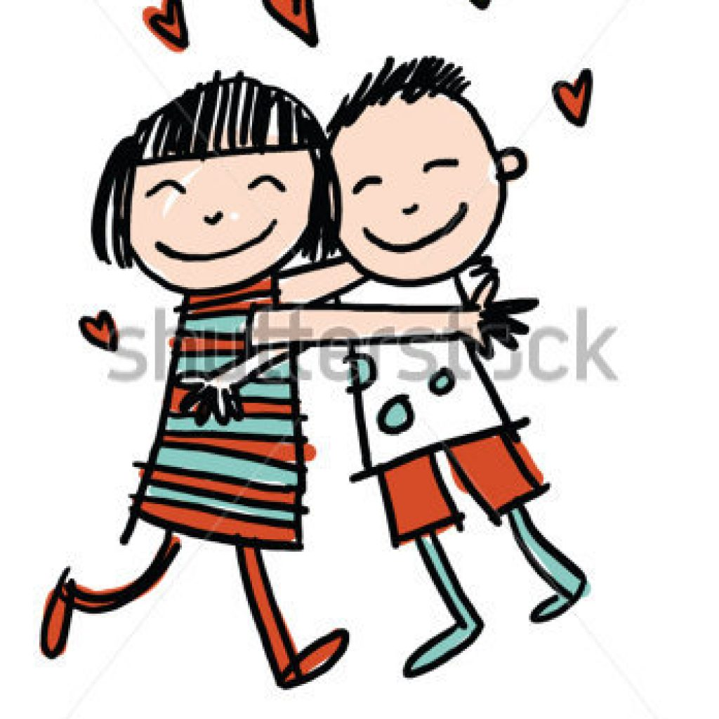 Clipart huging image library download Friends Hugging Clipart - Making-The-Web.com image library download