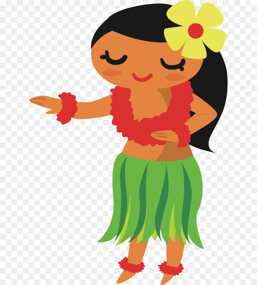 Clipart hula dancer jpg free stock Hawaiian Flower clipart - Dance, Graphics, Illustration, transparent ... jpg free stock