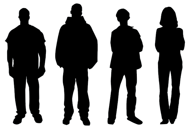 Silhouette clipart people stock Human Silhouette Clipart | Free download best Human Silhouette ... stock