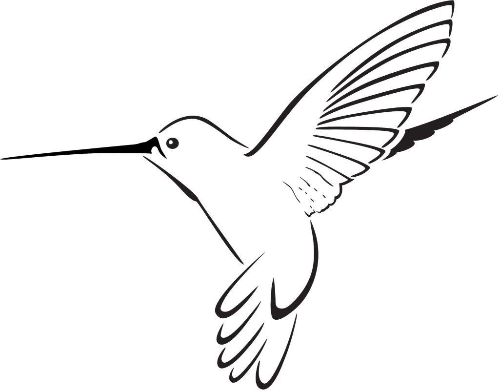 Clipart hummingbird svg black and white stock Hummingbird Clipart | Clipart Panda - Free Clipart Images | tattoo ... svg black and white stock