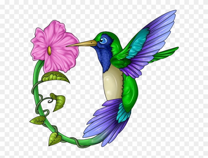Hummingbird with flower clipart clip art black and white library Hummingbird Clip Art 19 Hummingbird Clip Art Free Stock - Tattoo ... clip art black and white library