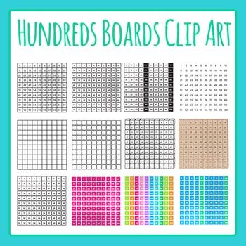 Clipart hundreds vector Hundreds Boards Commercial Use Clip Art Set vector