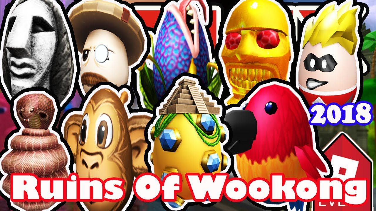 Clipart hunters live stream 2018 graphic download [EVENT] How To Get All Eggs in Ruins of Wookong - Roblox Egg Hunt 2018 -  Full Walkthrough graphic download