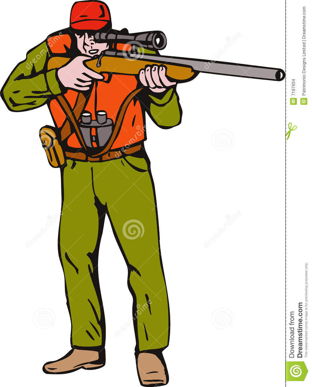Hunter transparent clip arts. Free hunting clipart images