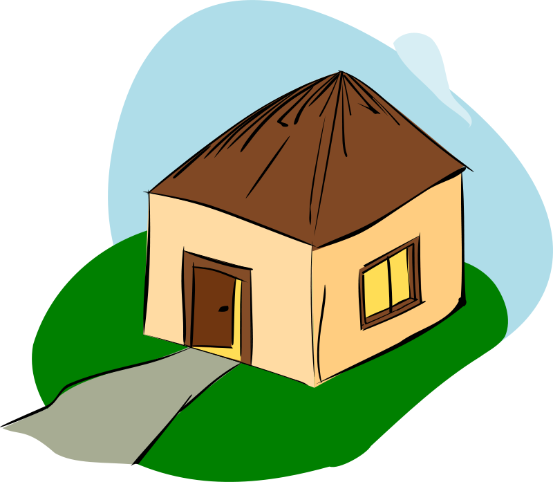 Clipart hut graphic freeuse Free Clipart: Hut | rdevries graphic freeuse