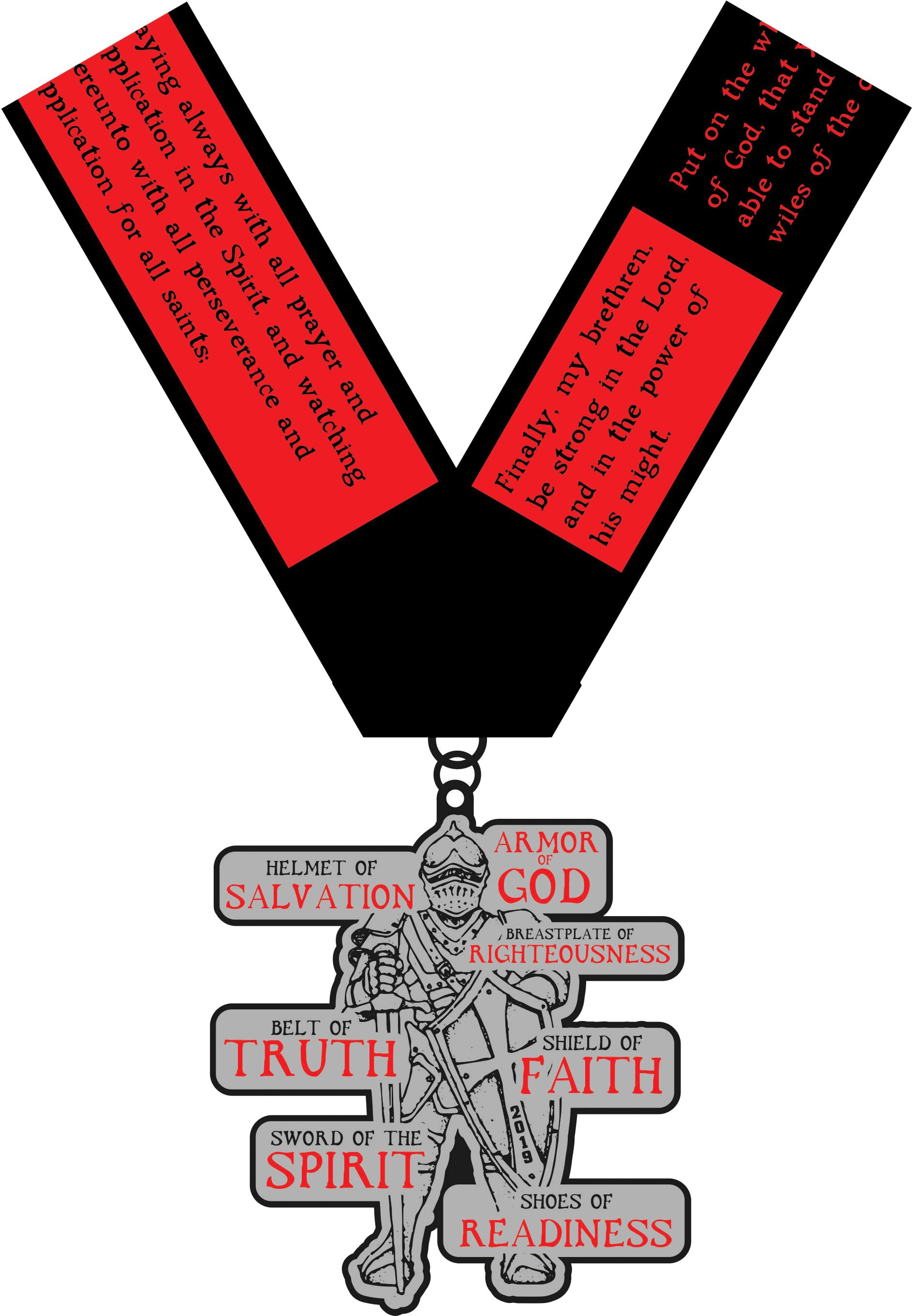 Clipart i am your truth your righteous transparent download 2019 Armor of God 1 Mile, 5K, 10K, 13.1, 26.2 - Milwaukee Tickets ... transparent download
