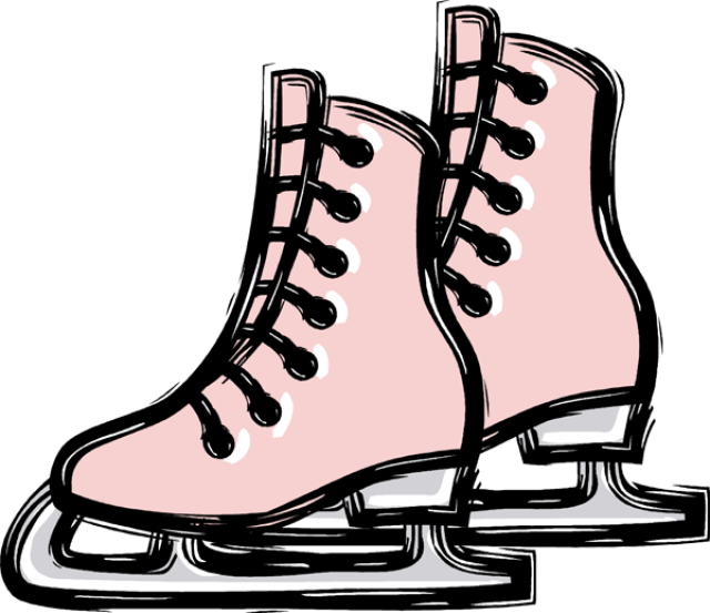 Clipart ice skate graphic black and white Free Ice Skating Cliparts, Download Free Clip Art, Free Clip Art on ... graphic black and white