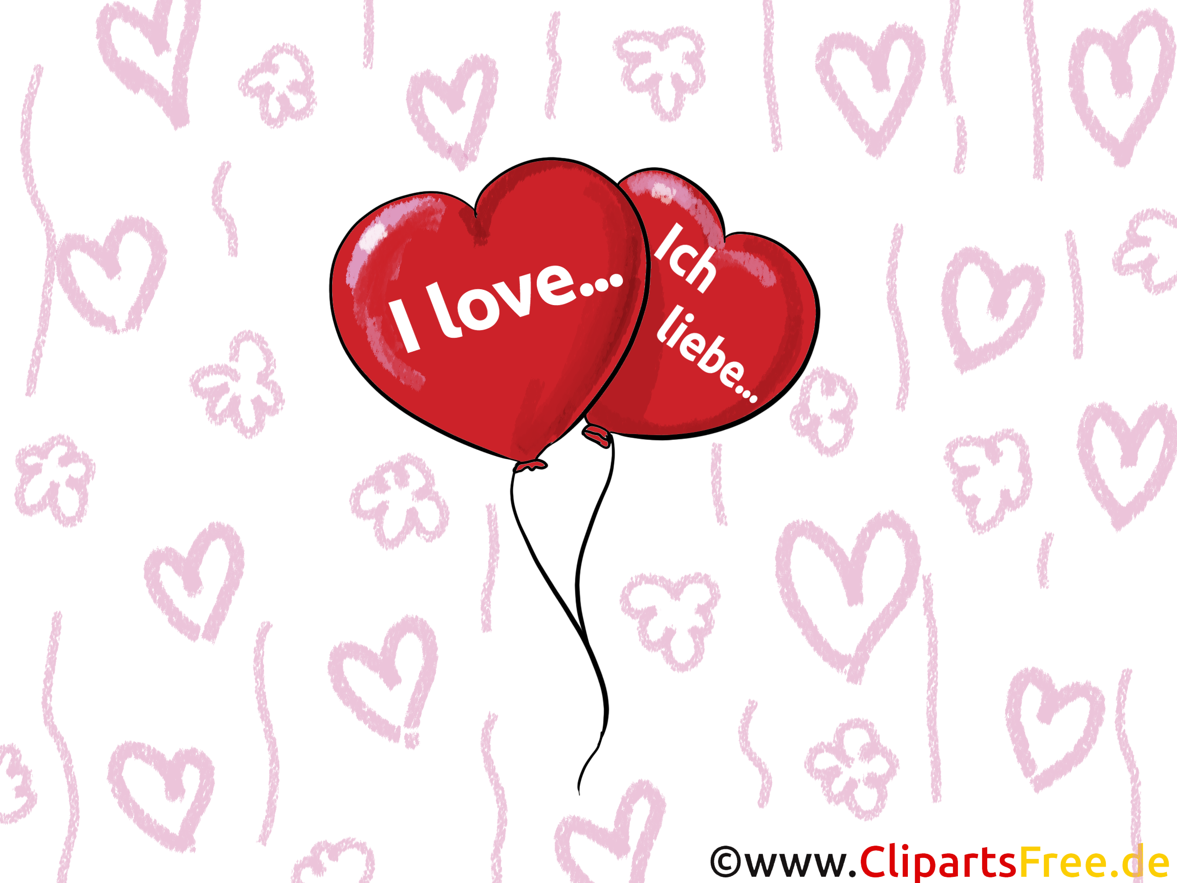 Clipart ich liebe dich picture royalty free download Ich Liebe Dich Clip Art – Clipart Free Download picture royalty free download