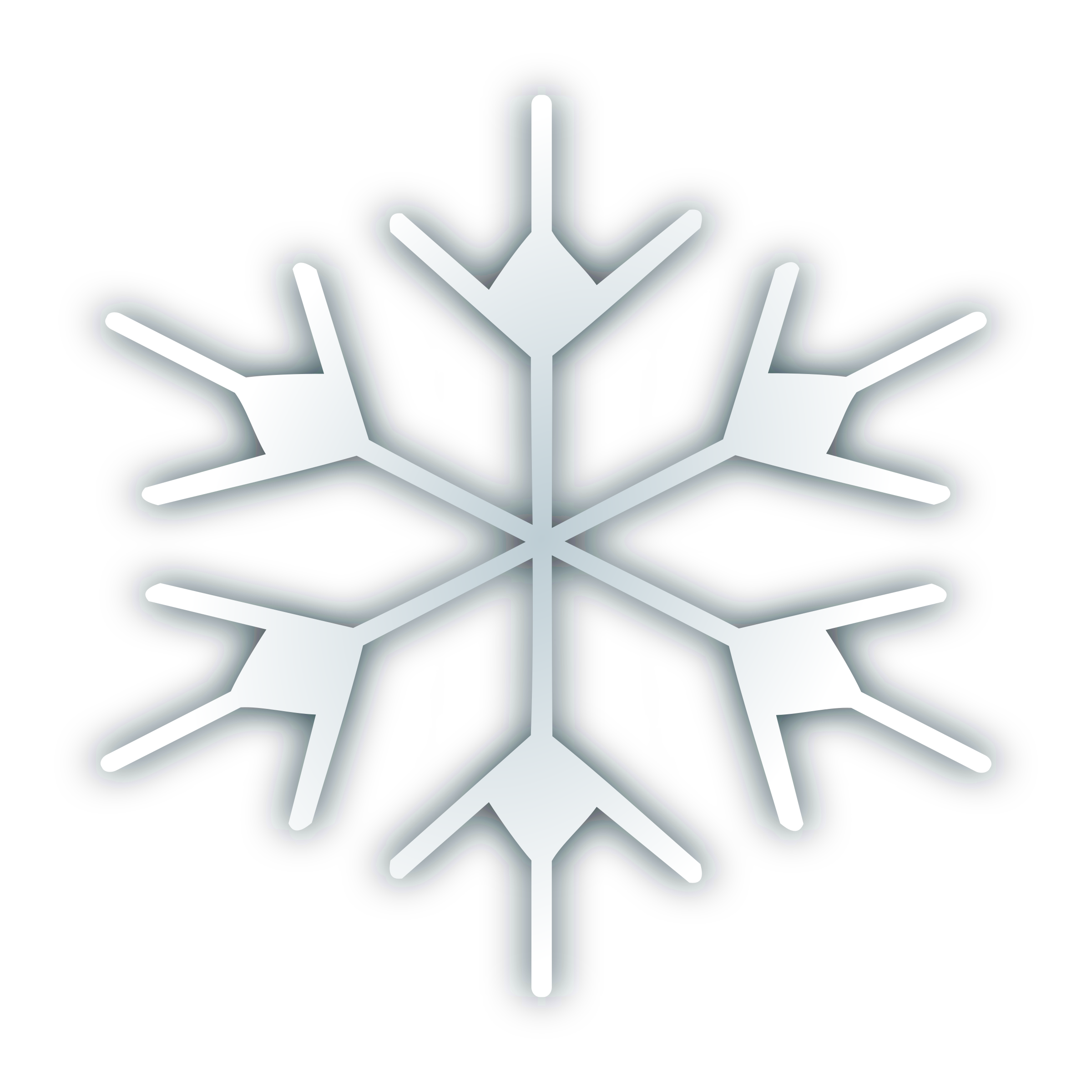 Clipart icon transparent snowflake svg stock Clipart - Snow fake icon 2 svg stock