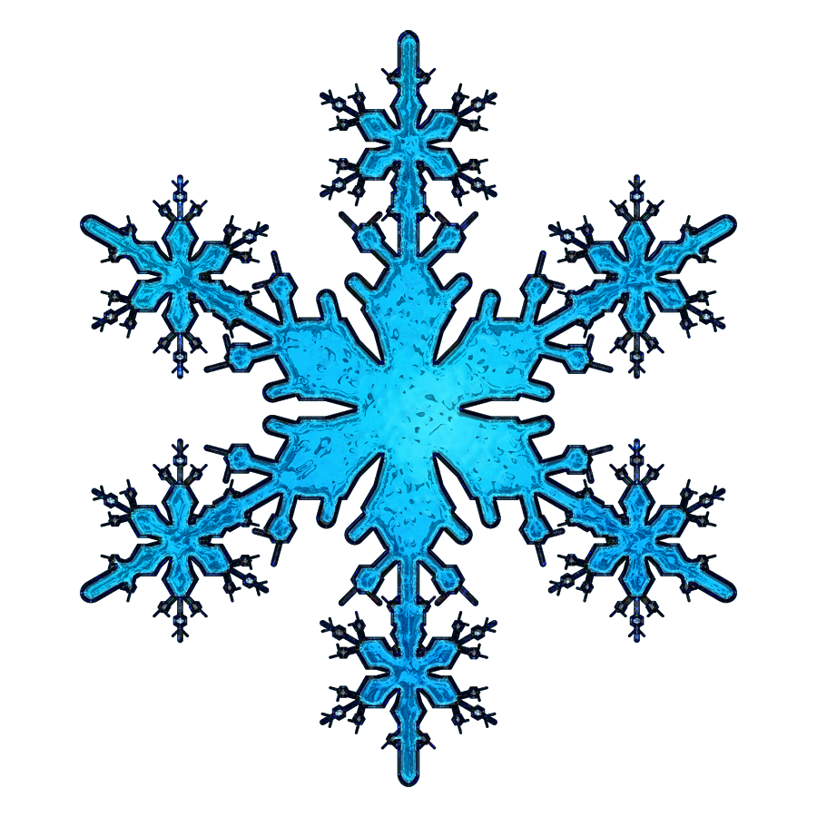 Crystal snowflake clipart graphic black and white download Snowflakes Transparent PNG Pictures - Free Icons and PNG Backgrounds graphic black and white download