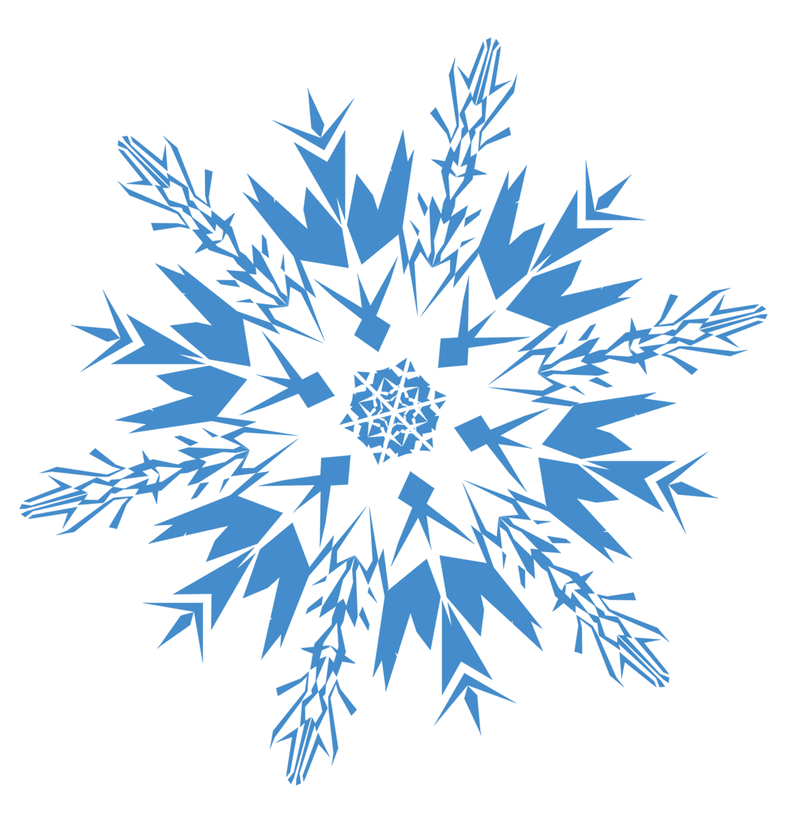 Clipart icon transparent snowflake svg free stock Snowflakes Icon Clipart | Web Icons PNG svg free stock
