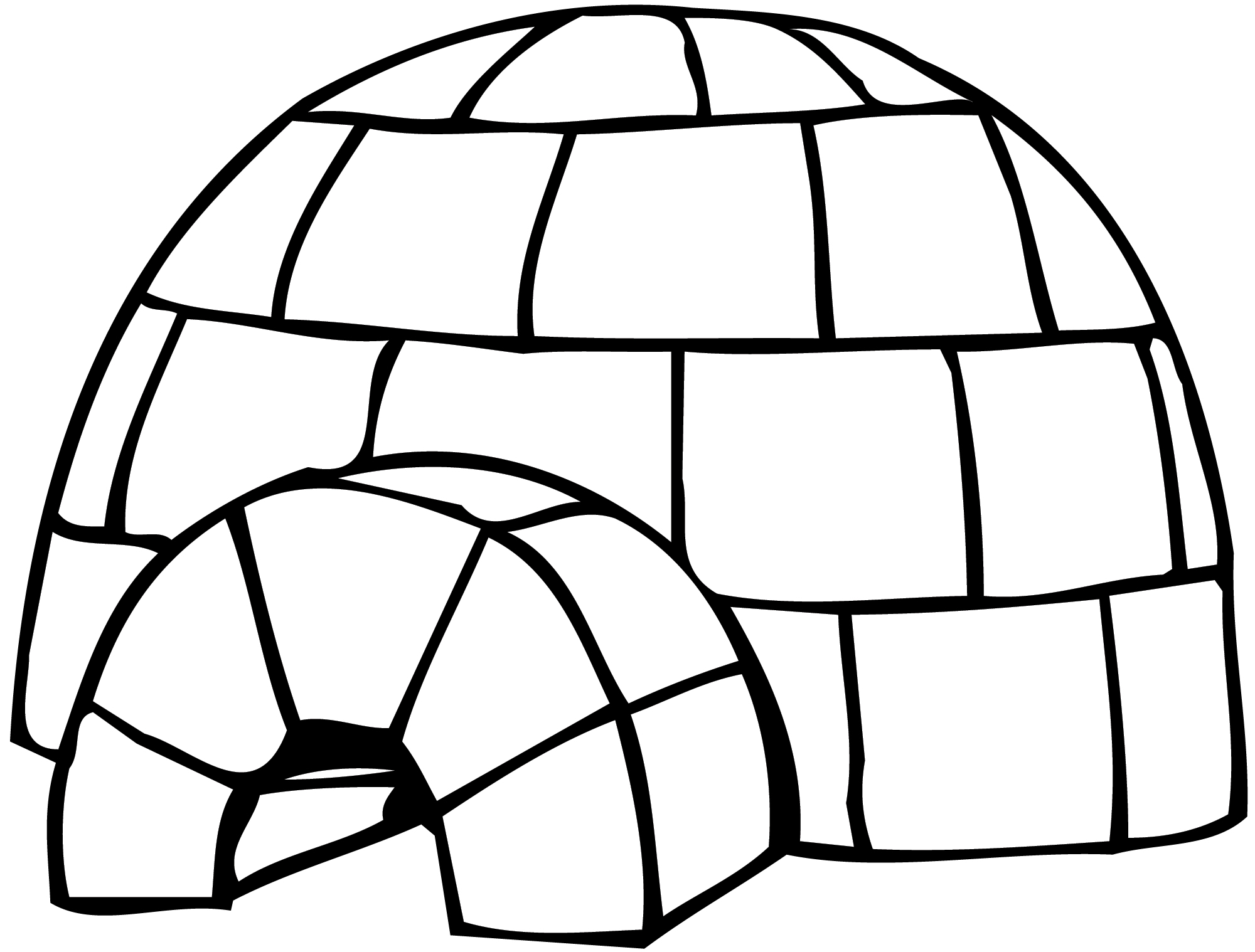 Clipart of an eskimo house picture transparent library Free Igloo Cliparts, Download Free Clip Art, Free Clip Art on ... picture transparent library