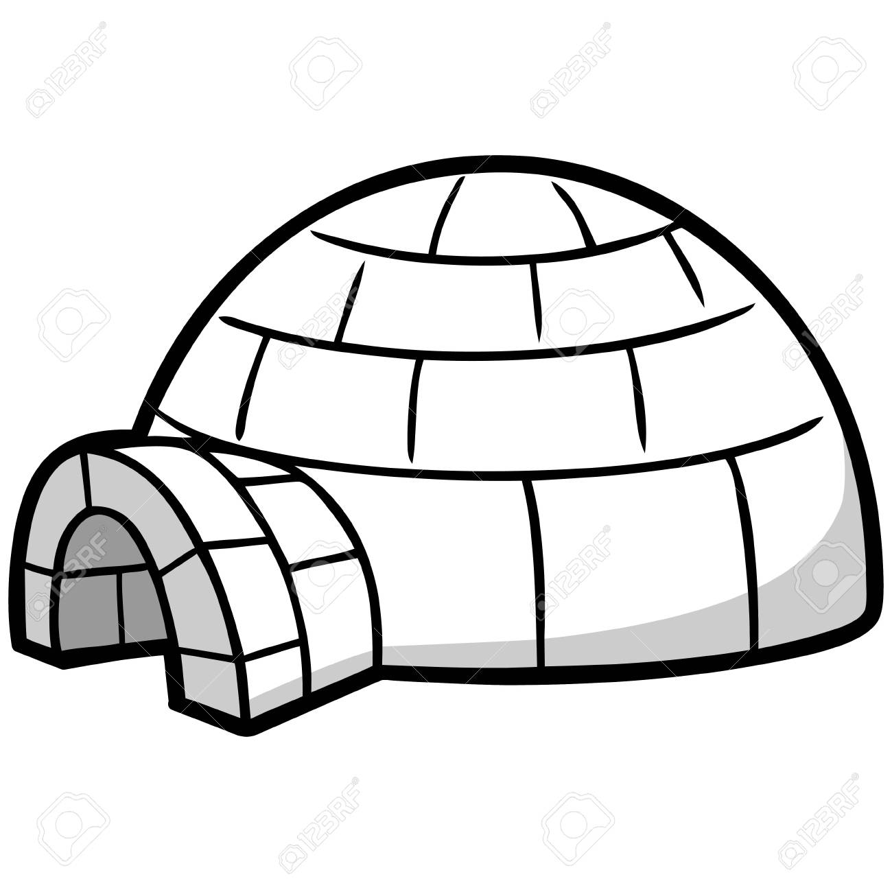 Clipart igloo graphic library 101+ Igloo Clipart | ClipartLook graphic library