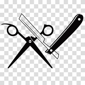 Clipart image barber holding a straight razor image black and white stock Miscellaneous male holding straight razor sketch transparent ... image black and white stock