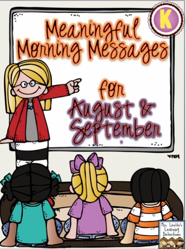 Clipart image class morning message clip transparent stock 17 Best ideas about Kindergarten Morning Messages on Pinterest ... clip transparent stock