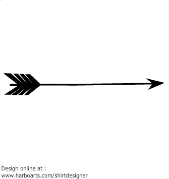 Clipart image of arrow image black and white Valentine arrow clip art - ClipartFest image black and white