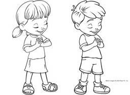 Clipart image of boy and girl praying png royalty free library free clip art child praying - Bing Images | Primary Clip Art | Clip ... png royalty free library