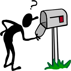 Clipart image of card delivery to mailbox clipart black and white stock PA SNAP clients MUST receive EBT cards in a timely manner - Just Harvest clipart black and white stock
