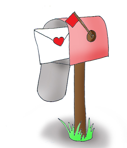 Clipart image of card delivery to mailbox banner free download Free Valentine Mail Cliparts, Download Free Clip Art, Free Clip Art ... banner free download
