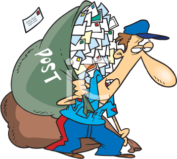 Clipart mail man