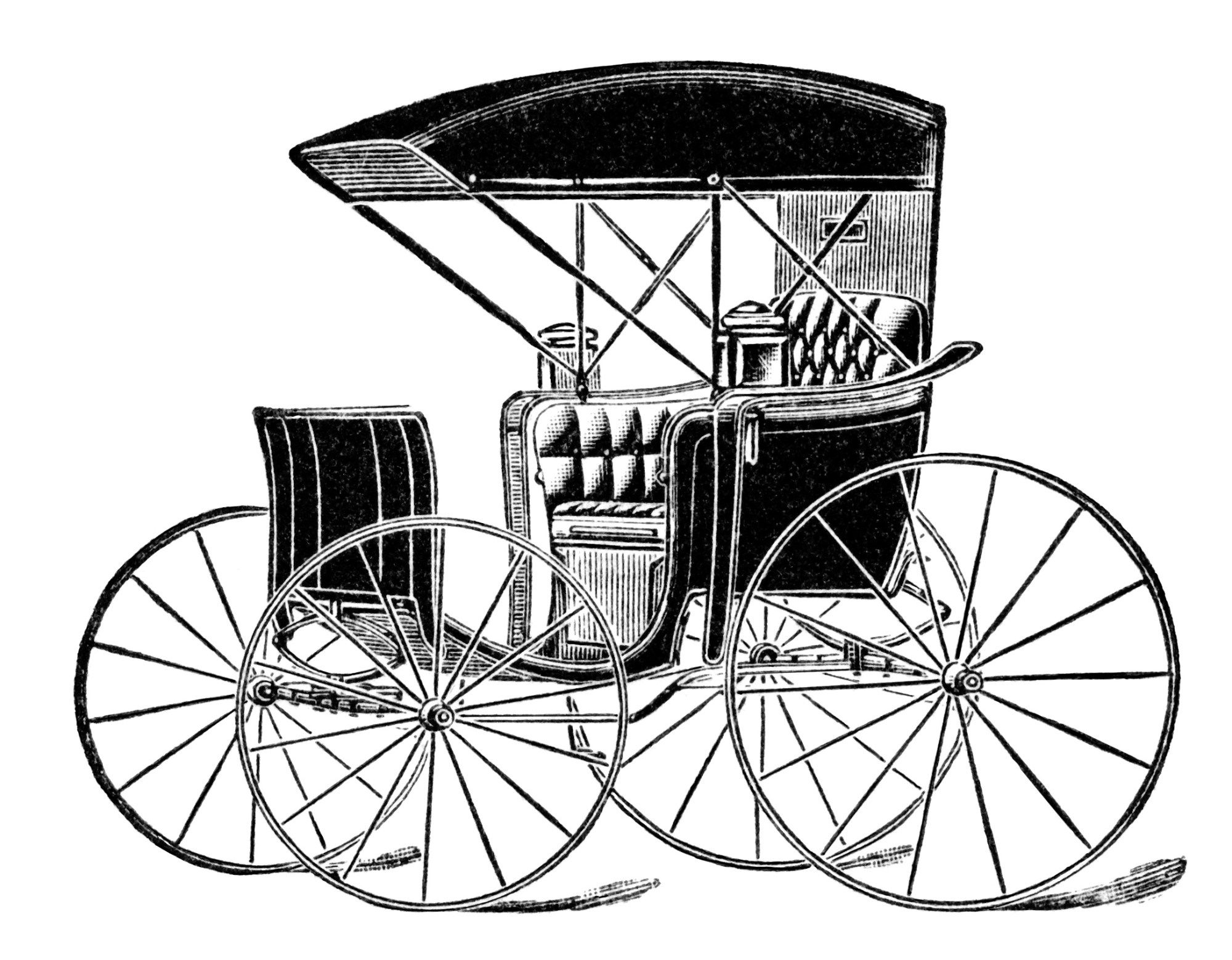 Clipart image of horse and buggy and car png free horse drawn carriage clip art, vintage transportation image, black ... png free
