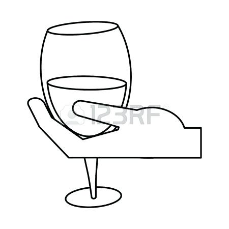 Clipart image of man holding a glass of water jpg royalty free stock Drinking Water Drawing | Free download best Drinking Water Drawing ... jpg royalty free stock