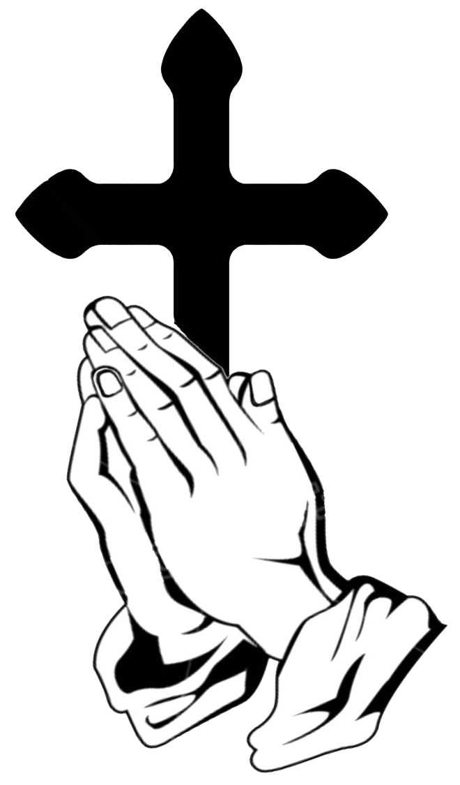 Clipart image of praying with all my heart svg freeuse stock Prayer Life   St. Timothy Church svg freeuse stock