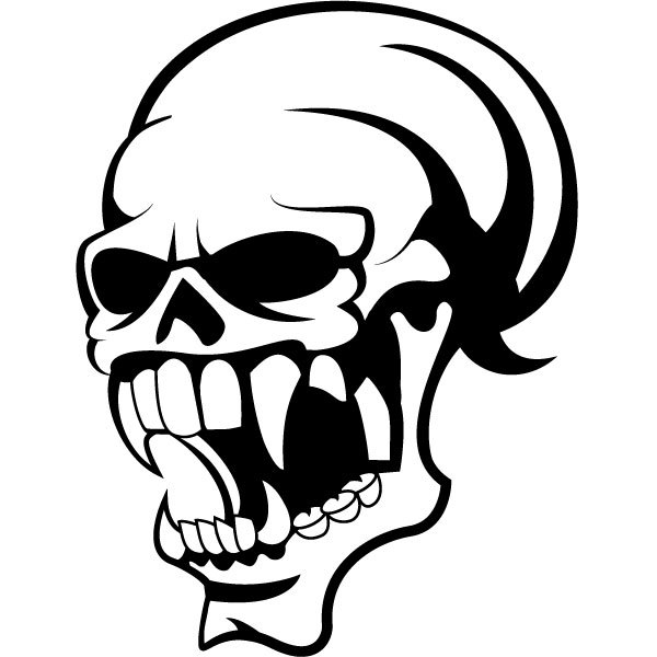 Clipart images download. Skull vector free clip