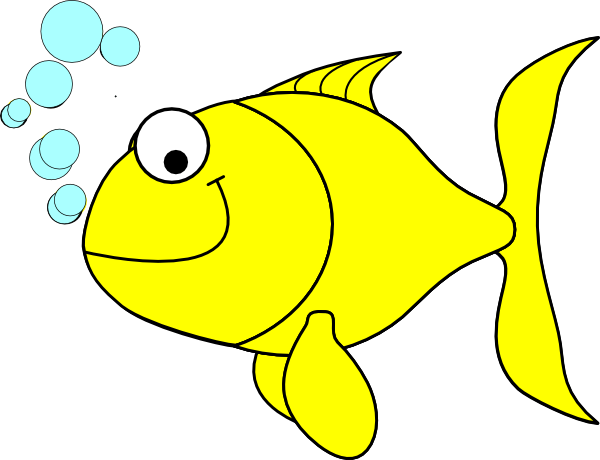 Clipart images fish graphic download fish clipart | Fish-yellow clip art - vector clip art online ... graphic download