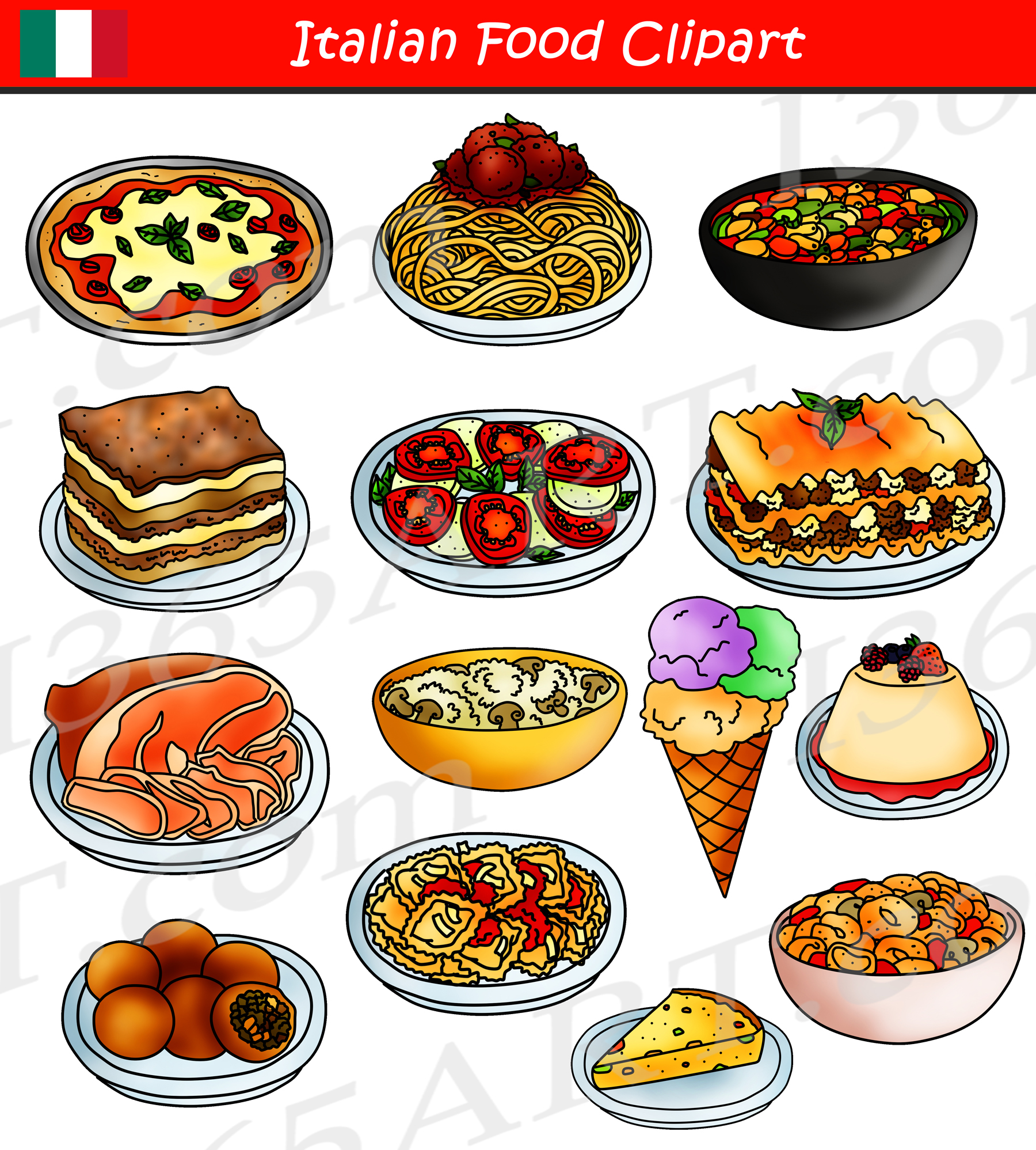 Food graphics clipart