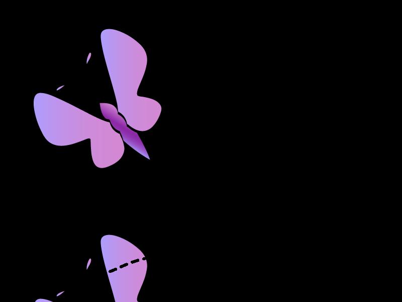 Clipart images for april butterflies