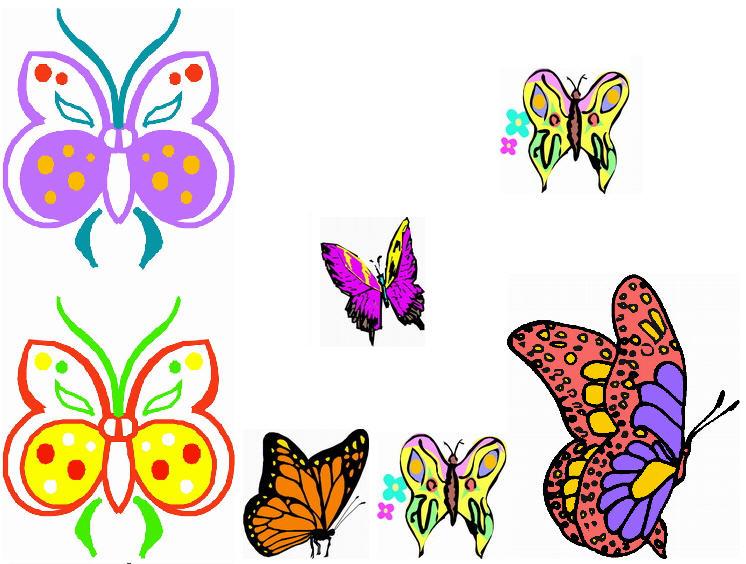 Clipart images for april butterflies. Clipartfest