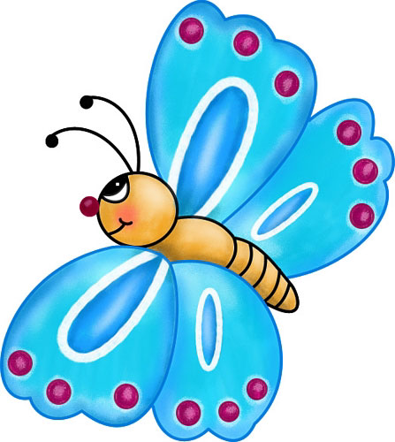 Clipart images for april butterflies. Free butterfly clip art