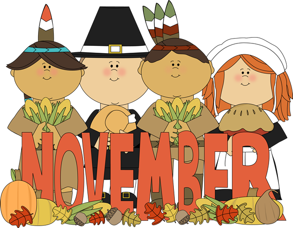 November pictures clipart clip library stock Month of November pilgrims and Indians. | Month Clip Art | Fall clip ... clip library stock