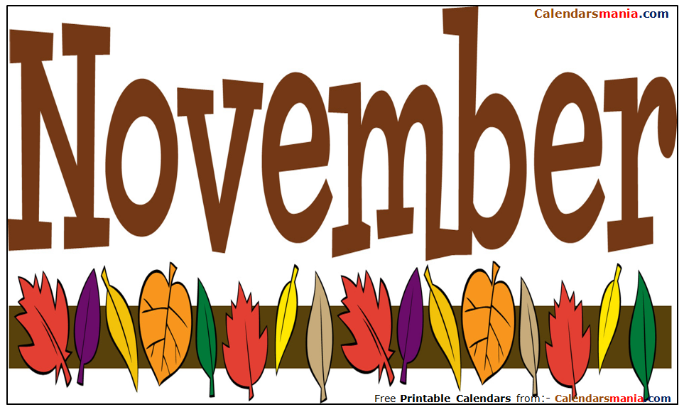 Clipart images for november jpg freeuse November Month Pictures, Photos, Wallpapers, Clipart jpg freeuse