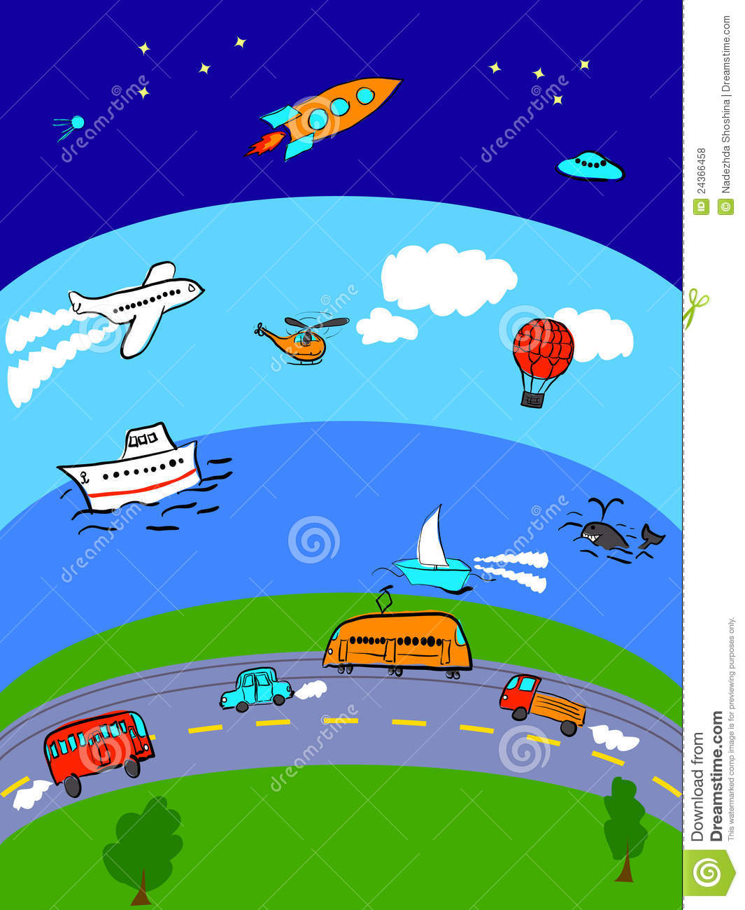 Clipart images means clipart stock Means of transport clipart 9 » Clipart Station clipart stock