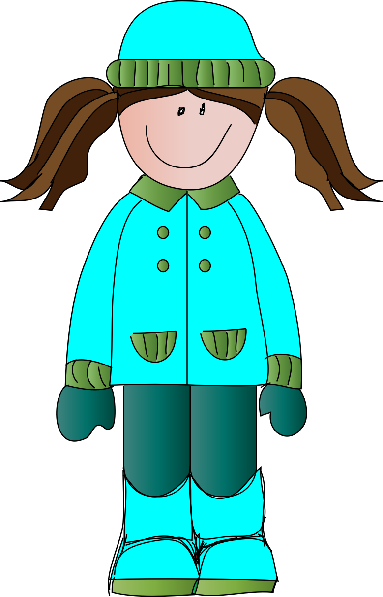 Clipart images of a girl in a winter coat svg royalty free stock Winter Coat Clipart Group with 88+ items svg royalty free stock